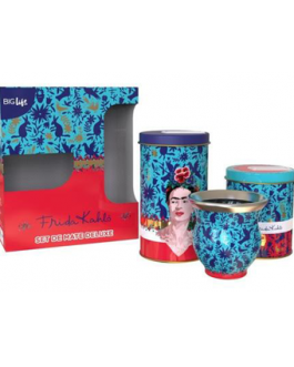 PM95022	– SET DE MATE DELUXE FRIDA KAHLO