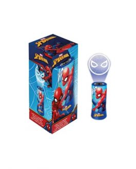 Art.CHA133-SPIDERMAN LAMPARA CON PROYECTOR a pilas