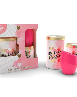 PM93677 – SET DE MATE DELUXE ROMANTICO