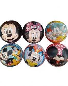DIS5738	PELOTA ANTI-STRESS X24UNIDADES – MICKEY/MINNIE